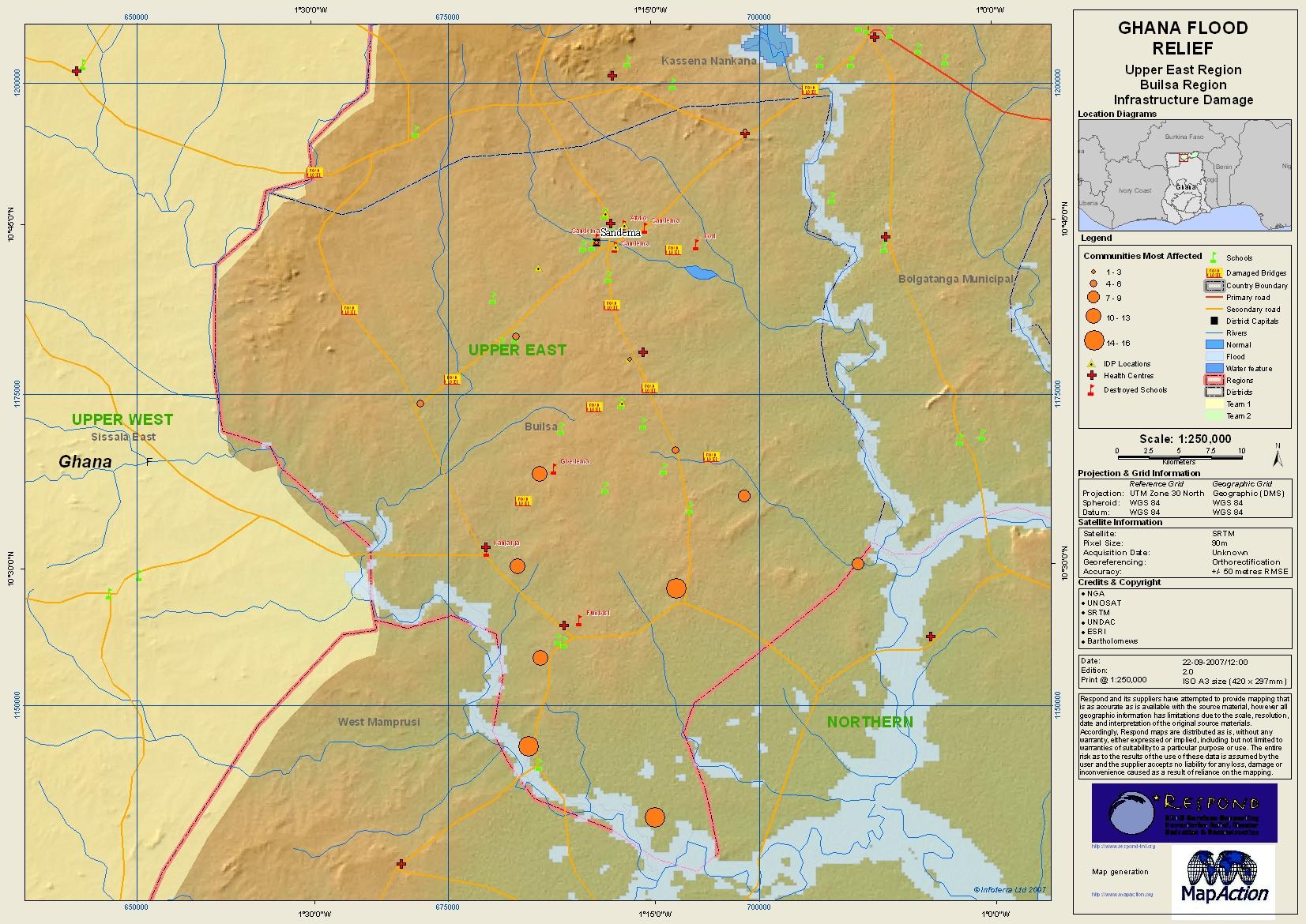 ma023infrastructuredamageuppereasta3lv02100dpi Upper East Region Of Ghana Map on weather today in ghana, map of ancient africa ghana, map of ghana brong ahafo region, map of north eastern region us,