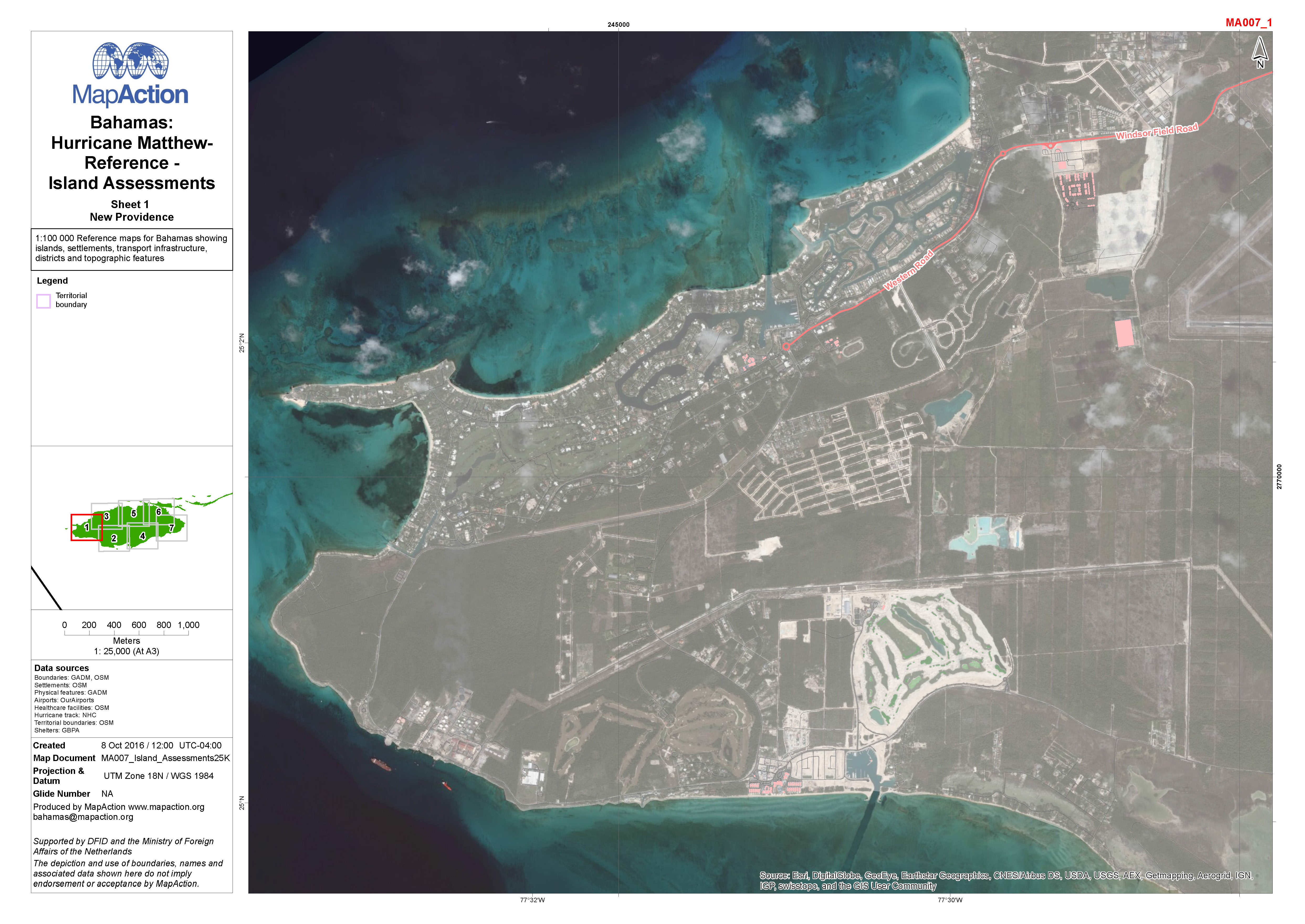 Bahamas october 2016 mapaction bahamas hurricane matthew reference island assessments gumiabroncs Image collections