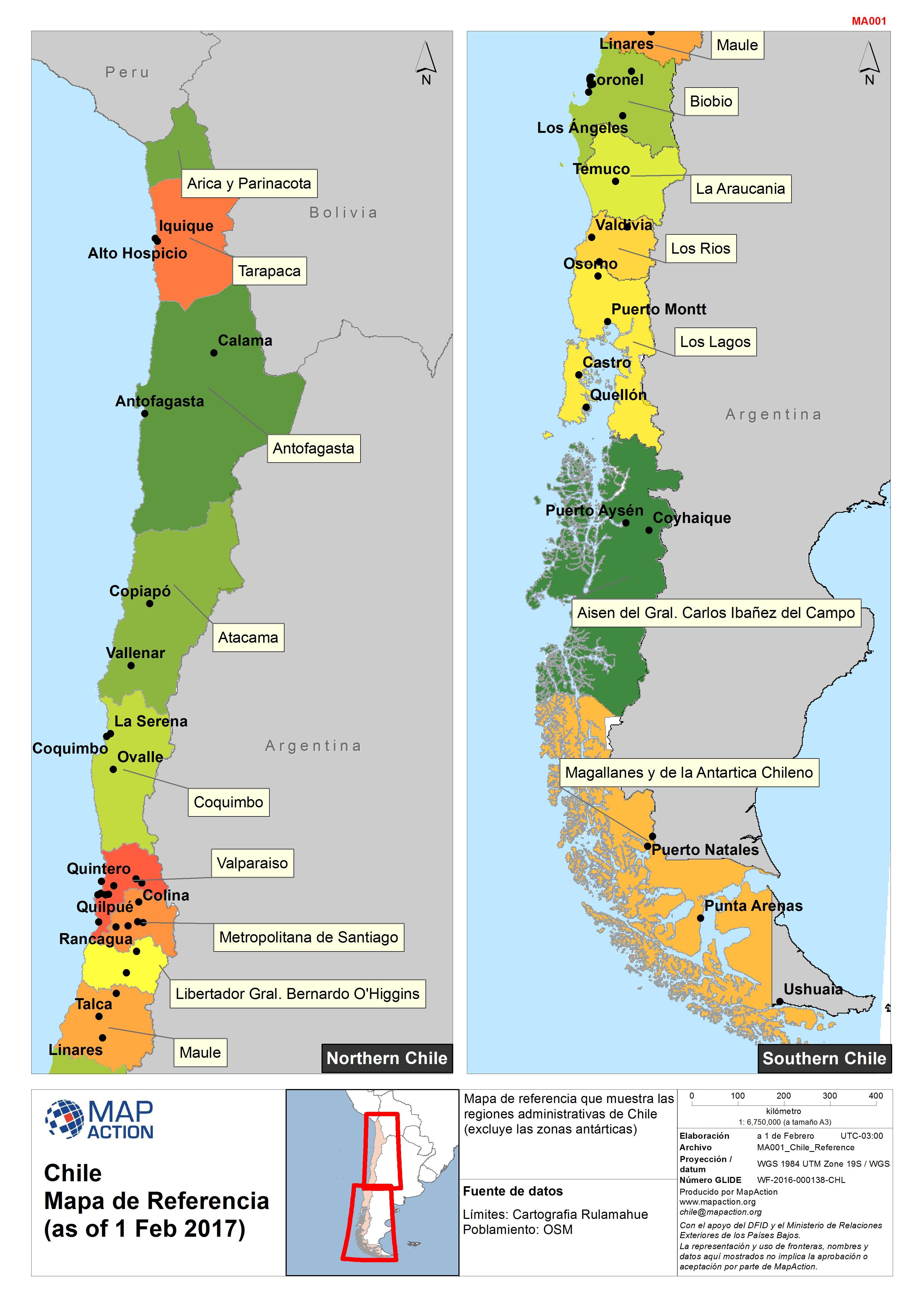 chile map pdf