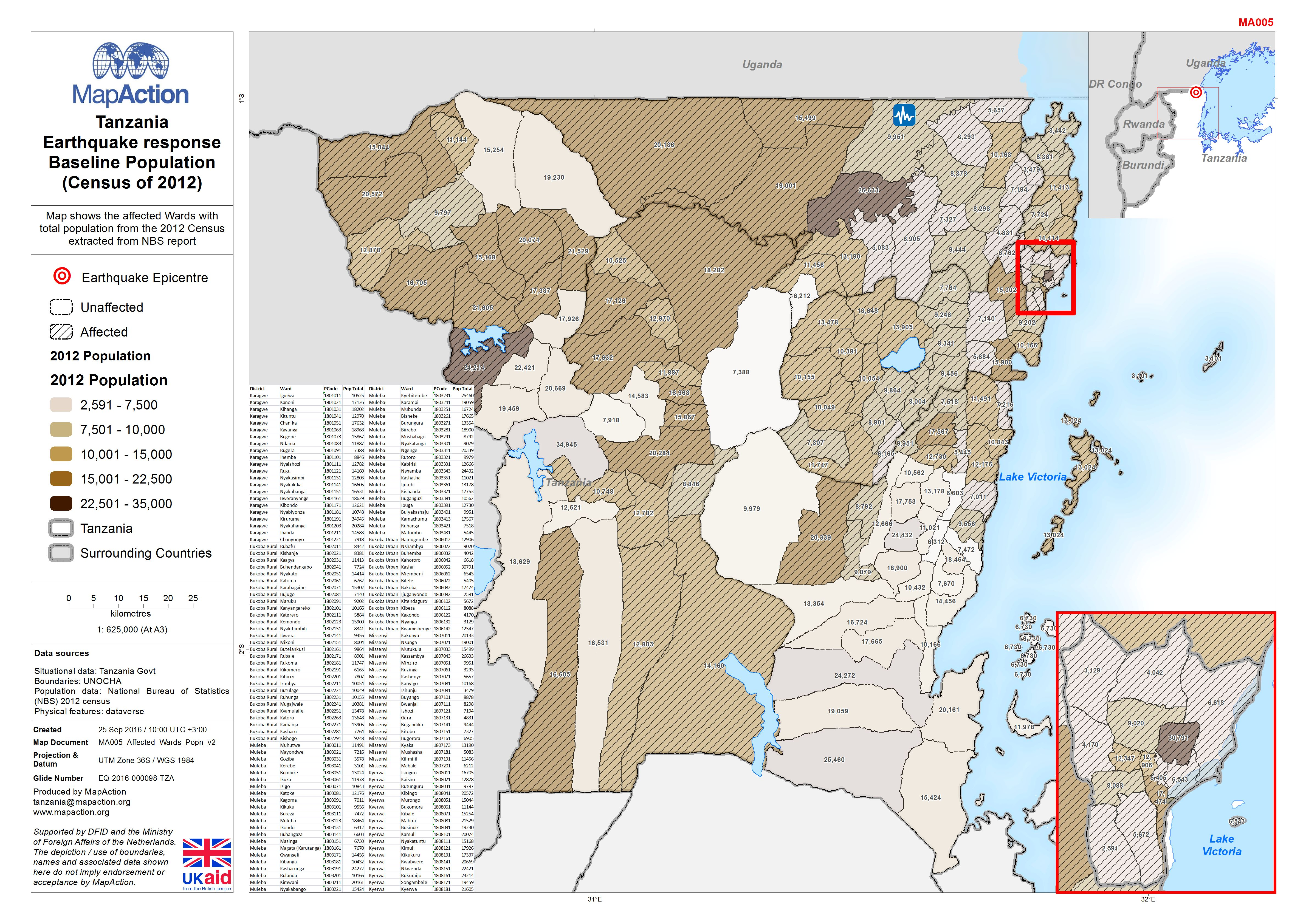 Tanzania september 2016 mapaction jpeg pdf gumiabroncs Image collections