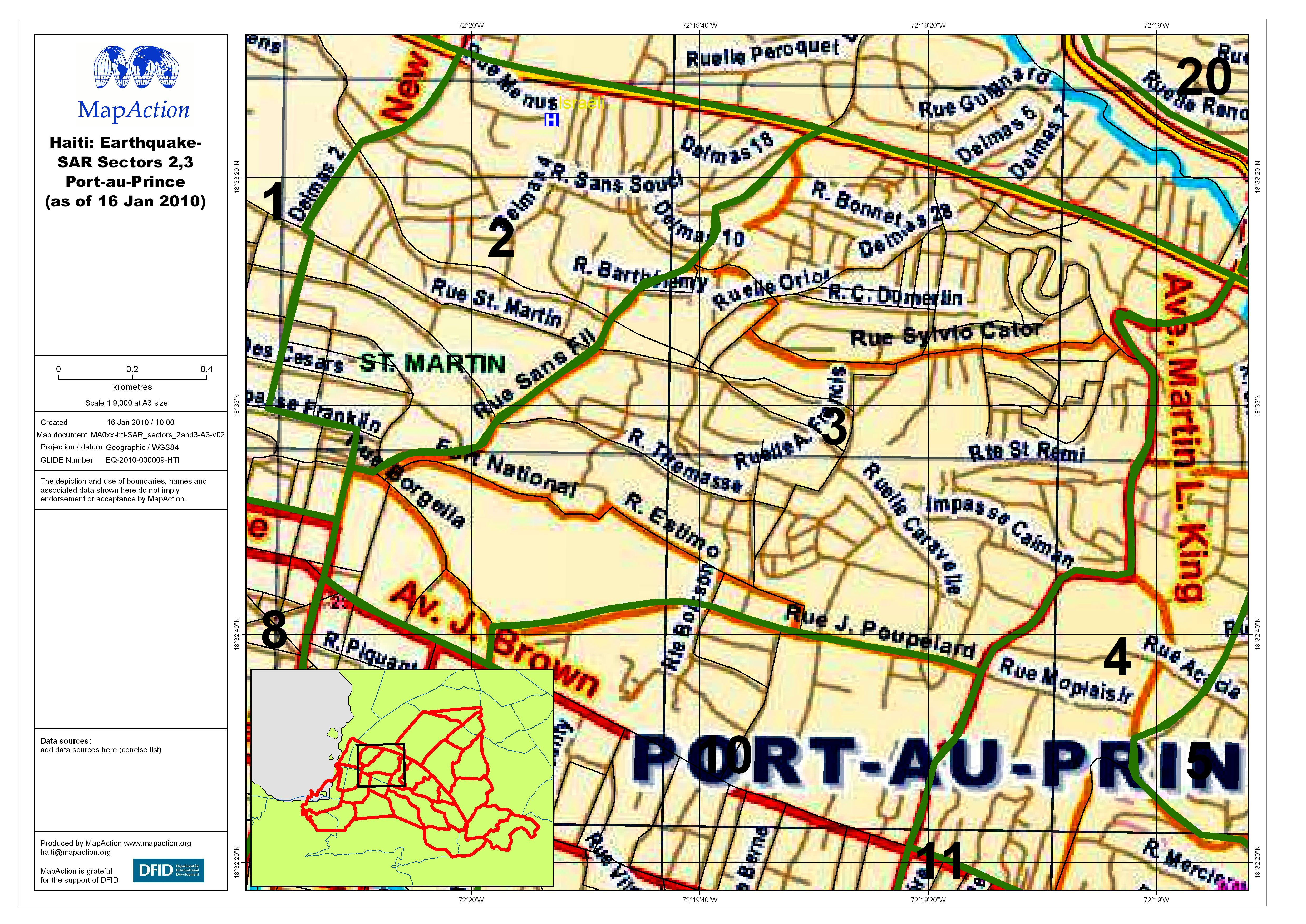 Haiti Earthquake Sar Sector 2 And 3 Port Au Prince Datasets